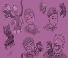 MST3K Doodle Dump by Desiree-Joy