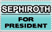 Sephiroth For President by Ranefea