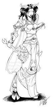 Commission: Draenei Priest