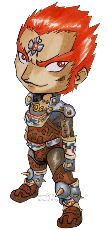 Kid Link Ocarina Of Time Chibi Ganondorf?...