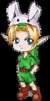 Chibi Kid Link by Ranefea