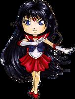 Chibi Sailor Mars by Ranefea