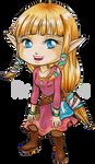 Chibi Skyloft Zelda