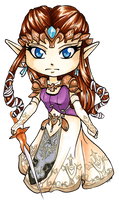 Chibi Twilight Princess Zelda