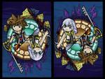 Kingdom Hearts II Wind Waker Style by Ranefea