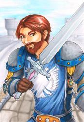 Commission: Haydn (Paladin) - World of Warcraft by Ranefea