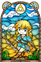 Breath of the Wild Stained Glass