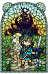 Breath of the Wild Stained Glass 2