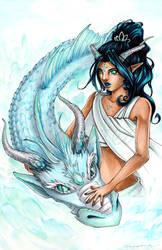 Water Dragon by Ranefea