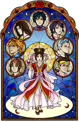 Fushigi Yuugi Stained Glass