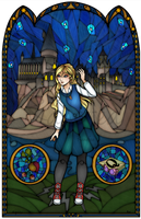 Luna Stained Glass by Ranefea
