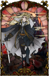 Alucard Stained Glass