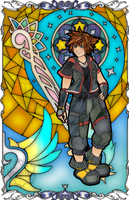 KH Sora Stained Glass by Ranefea