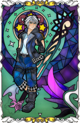 KH Riku Stained Glass by Ranefea