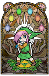 A Link to the Past Stained Glass by Ranefea