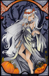 Art Nouveau Elf