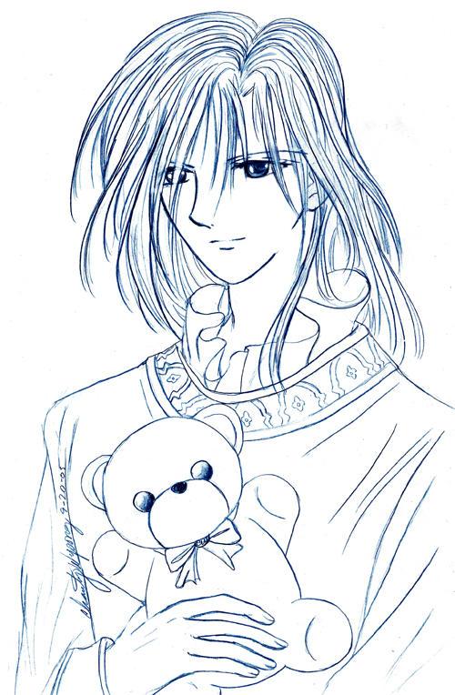 Yes...Hotohori AGAIN-pencil by Ranefea