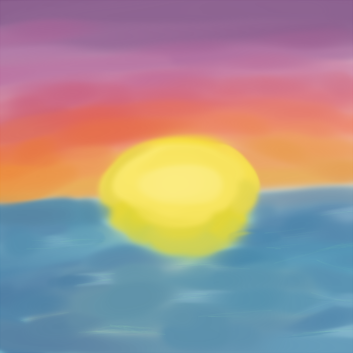 Sunset Painting Thing by assporn