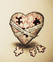 The Puzzling Matter At Heart by Biologicaly-Flawed