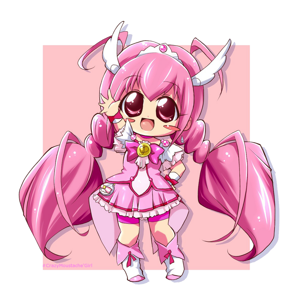 SmilePreCure Cure Happy Chibi PNG by CrazyMoustacheGirl on ...