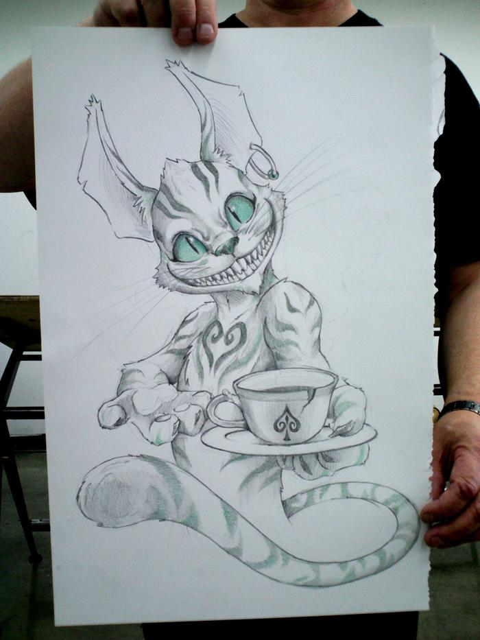 The Cheshire Cat by iBird
