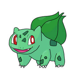 Bulbasaur by Kuroktos