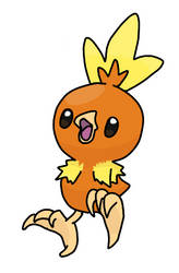 Torchic by Kuroktos