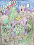 Ghost Story my MLP Kirin OC by GypsyLycan