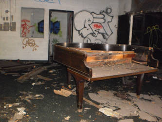 Detroit abandoned school 14 by AKause