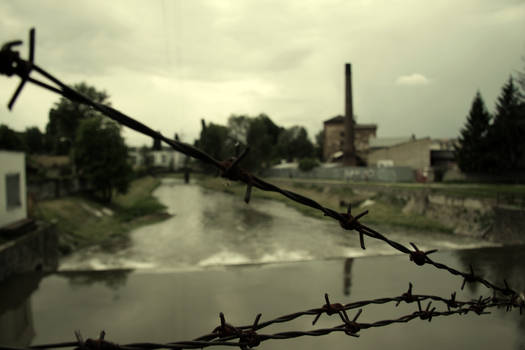 Industrial riverside