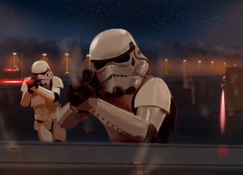 Star Wars: Important Person Part II - First Shot by DAN1637IEL