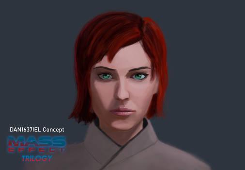 Mass Effect Female Shepard Concept