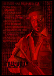 Call of Duty: Black Ops Frank Woods Poster