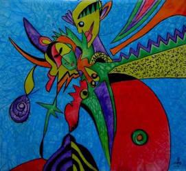 My painting  Tango  by uvarovart