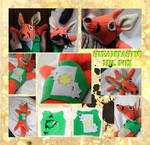 Steampunked Mr. Fox by Draconek