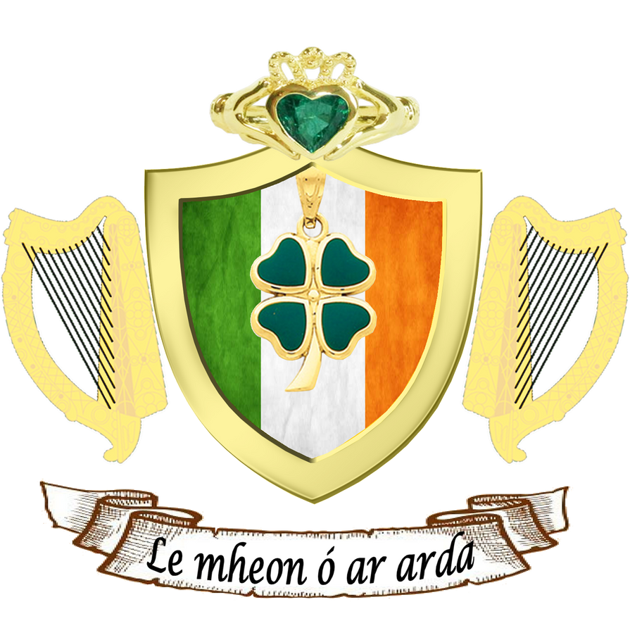 Irish coat of arms by spacephosej on deviantart irish coat of arms by spacephosej buycottarizona Images