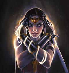 Wonder Woman! by ConejoBlanco