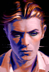 Bowie (The Starman) by ConejoBlanco