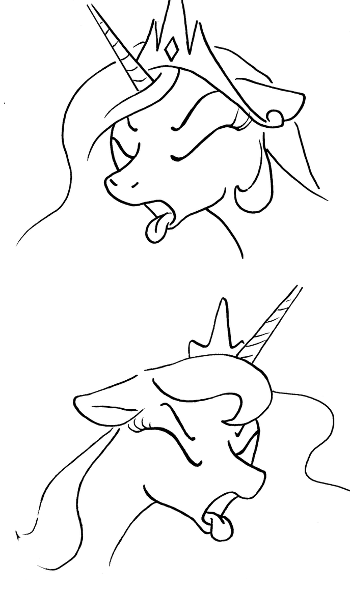 Expression Challenge: Disgusted by ArrJaySketch