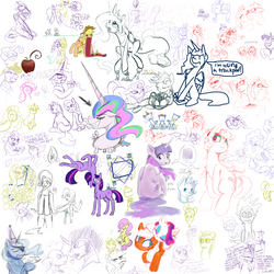 Drawpile #5 by Multiponi