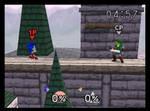 Sonic in Super Smash Bros. 64