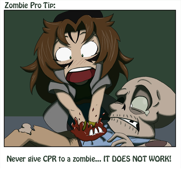Zombie Pro Tip: CPR by LastRyghtz