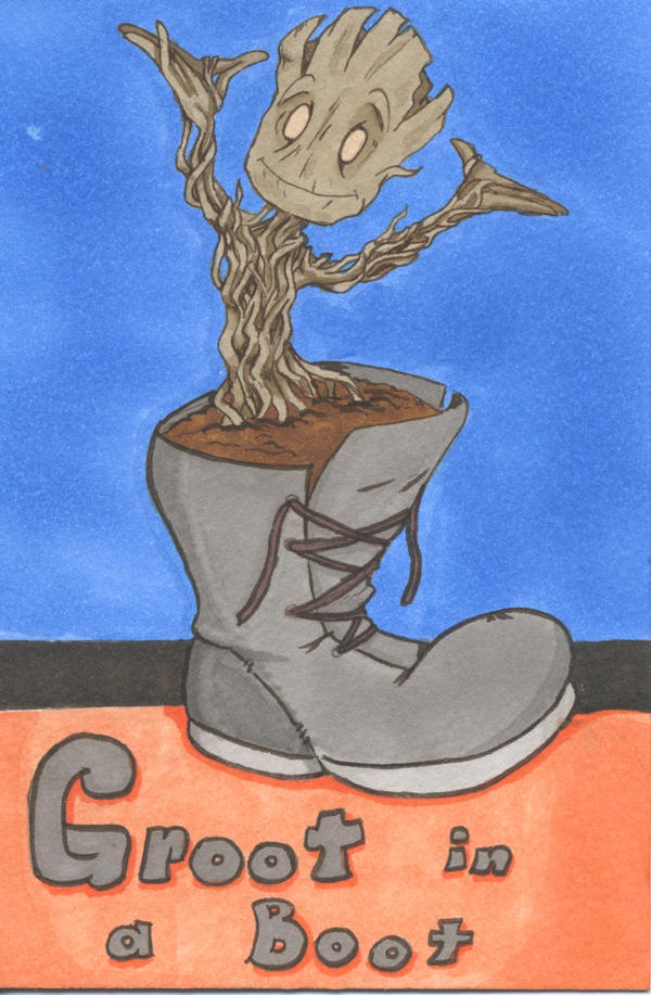 Groot in a Boot by LastRyghtz