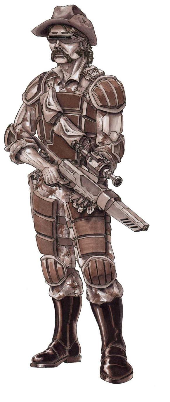 Boer Protectorate Sniper by grendeljd