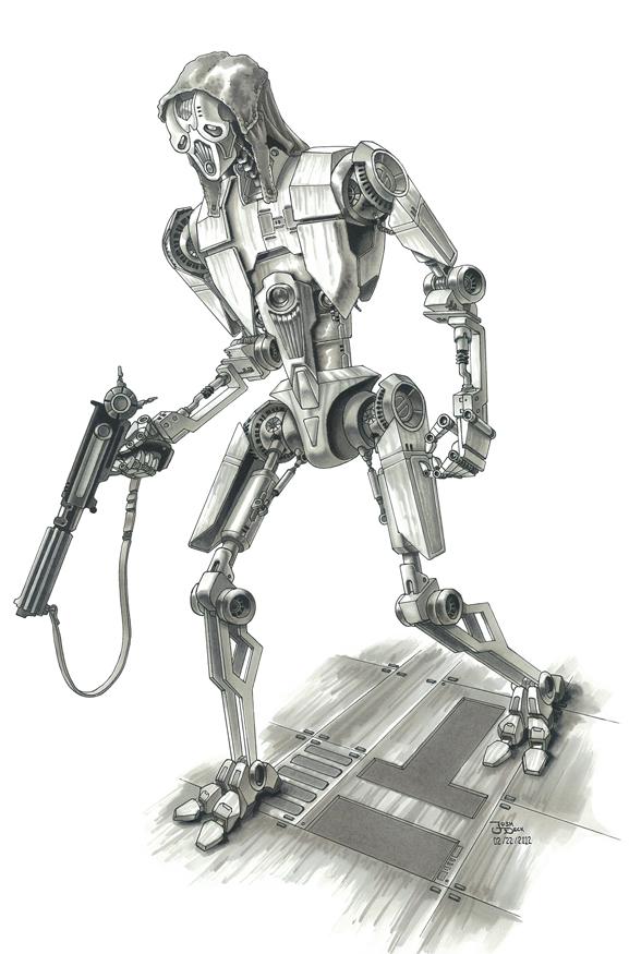 T4-K2 Droid by grendeljd