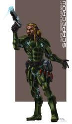 ScareCrow - Ex Clone Trooper by grendeljd