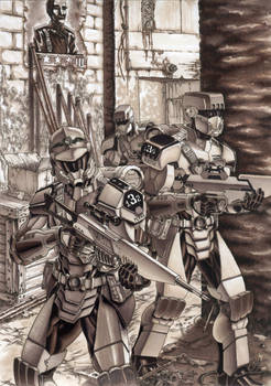 Defiance: Evolution Of Arms cover art [Marker] by grendeljd