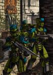 Defiance: Evolution Of Arms cover art [color] by grendeljd