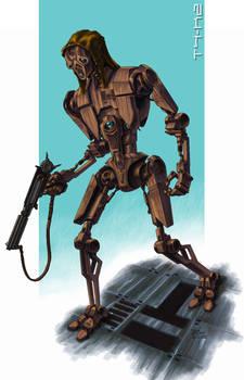 T4-K2 assassin droid [colour]