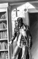 Man Of God pin-up of John Morris by grendeljd